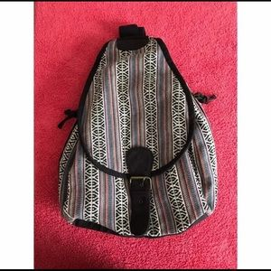 Tribal Aztec Print backpack